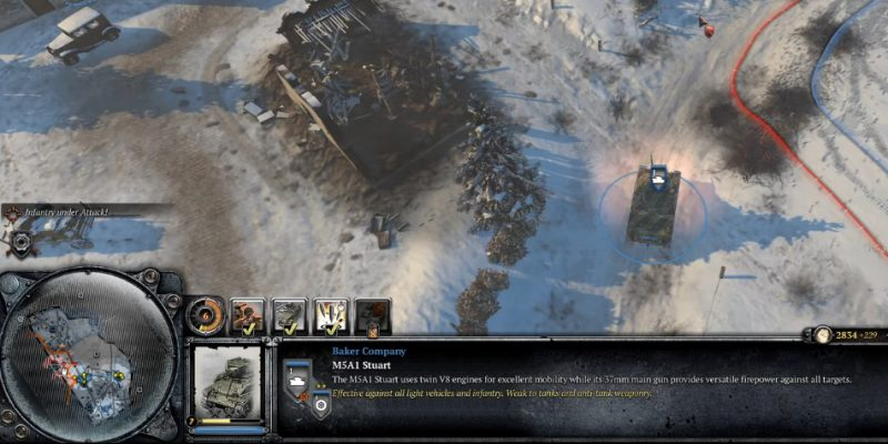 Game Strategi PC Company of Heroes 2 Ardennes Assault