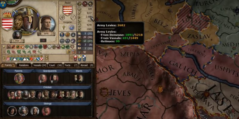 Game Strategi PC Crusader Kings II