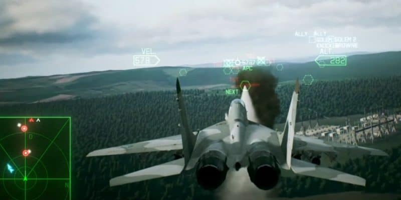 Game Pesawat Simulator PC Ace Combat 7 Skies Unknown