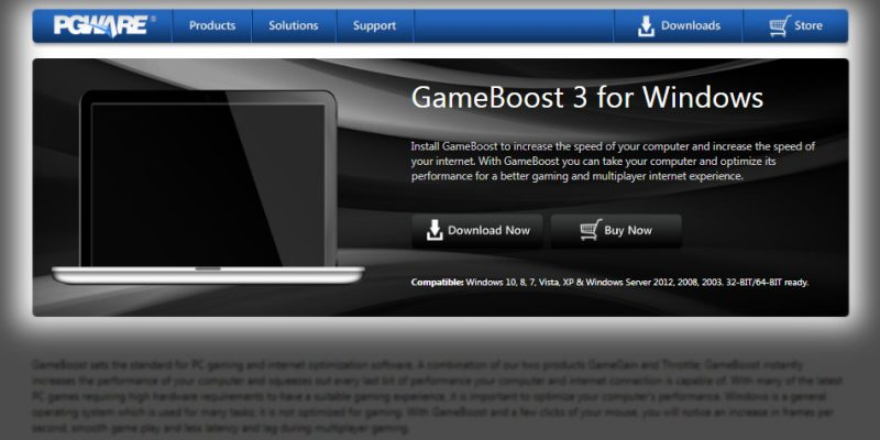 Game Booster PC GameBoost 3