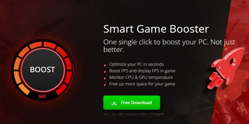 Game Booster Smart Game Booster