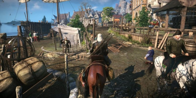 Game The Witcher 3 Wild Hunt