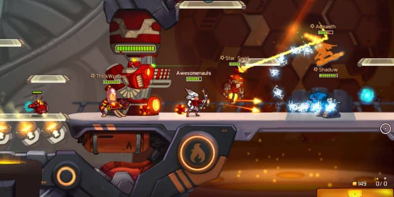 Game Moba PC Awesomenauts