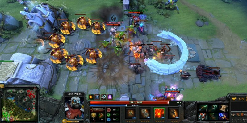 Game Multiplayer PC Dota 2