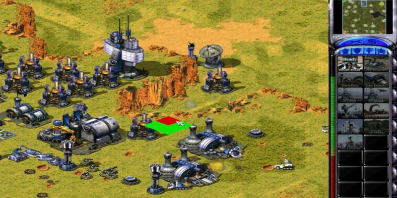 Game RTS PC Command & Conquer Red Alert 2
