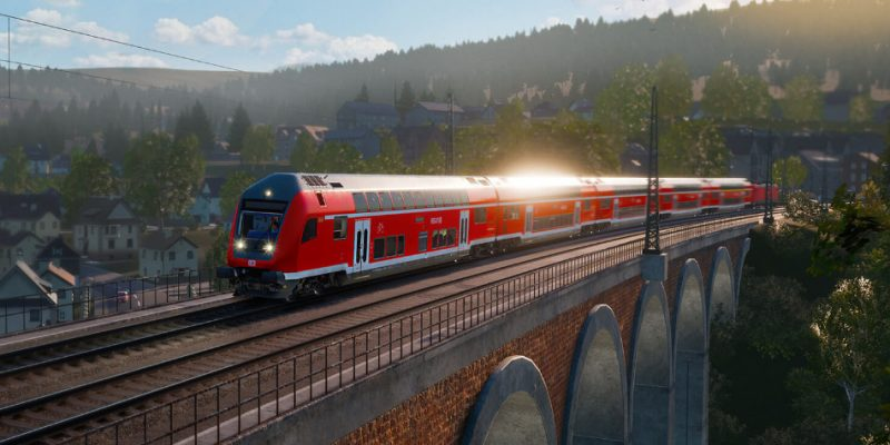 Game Train Sim World